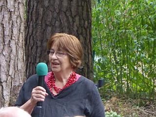 Dr. Eva Maleck-Lewy hat diese Programm vorbereitet und eröffnet die Veranstaltung.